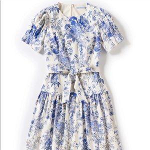 NWT {Antonio Melani} Floral Puffed Sleeve Dress